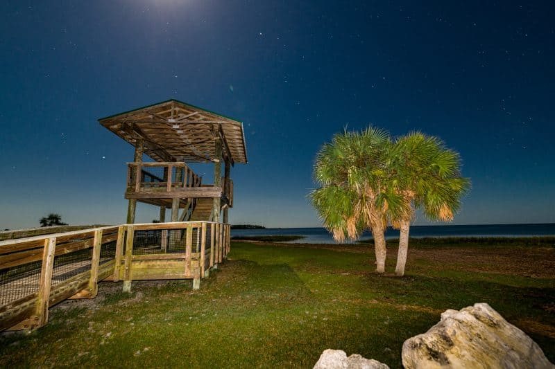 Observation Tower at Hagen's Cove